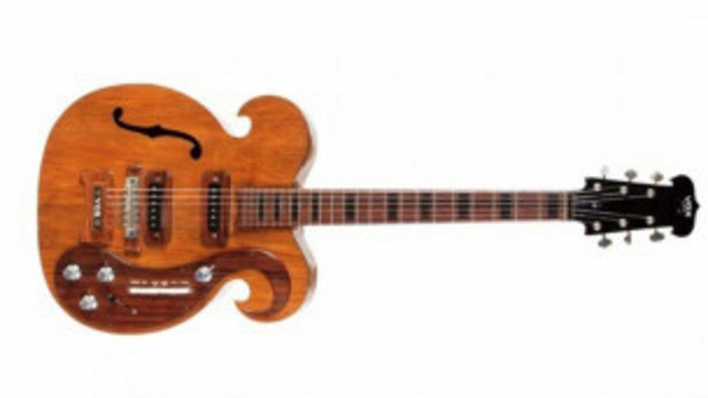Guitarra de Lennon é vendida por R$ 826 mil em leilão - BBC Brasil