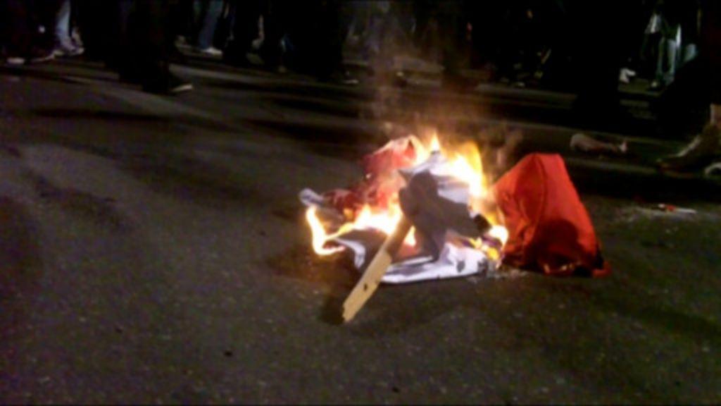 Presença de partidos gera divisão e violência em protestos de SP ...