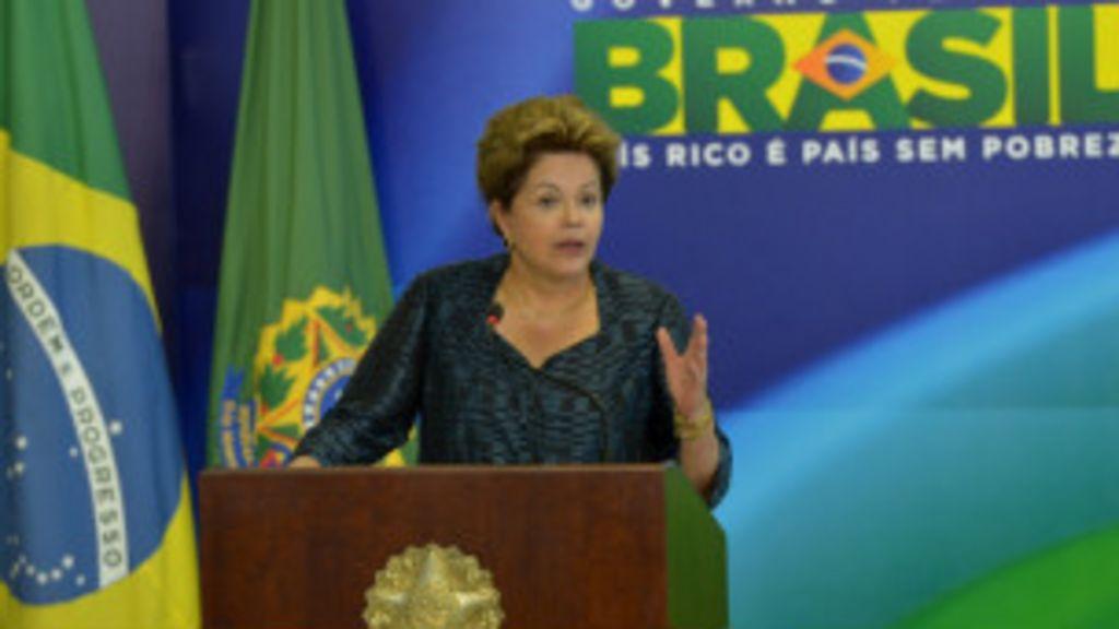 Duas visões: A resposta de Dilma à crise política - BBC Brasil