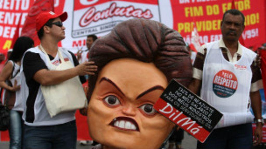 Centrais sindicais testam Dilma com paralisação nacional - BBC Brasil