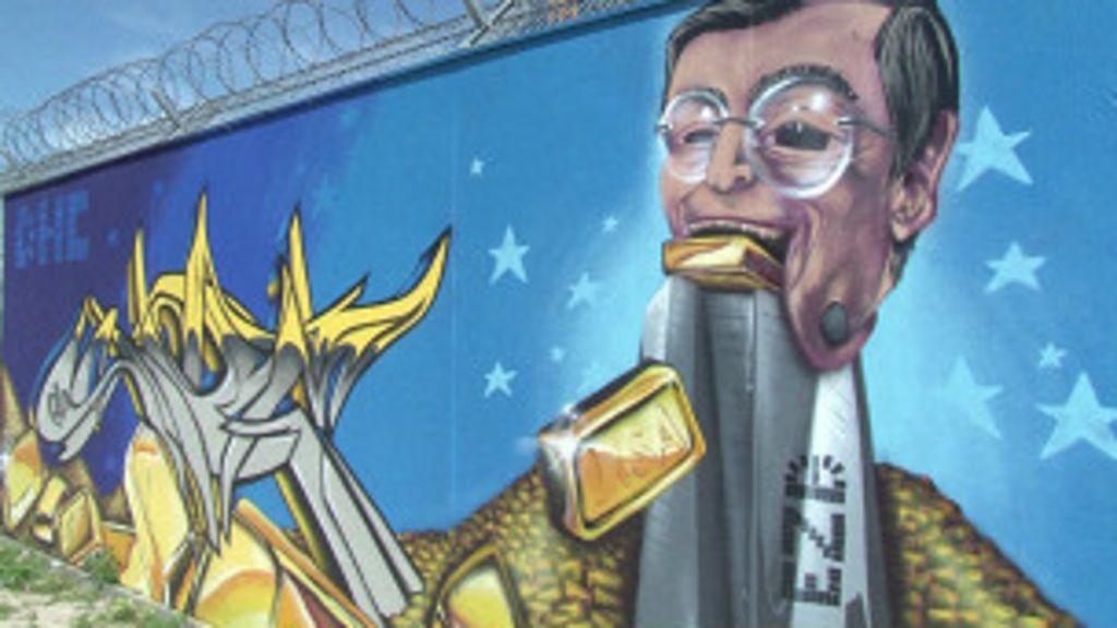 Arte em revista: BC europeu vira 'museu do grafite' - BBC Brasil