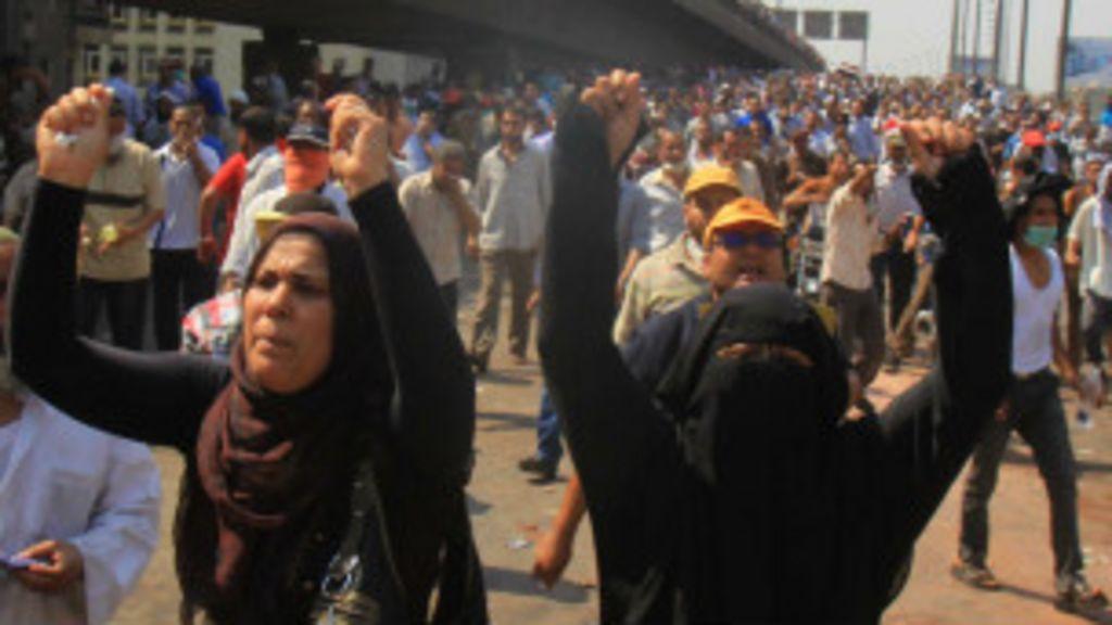 Confira a repercussão internacional dos confrontos no Egito - BBC ...