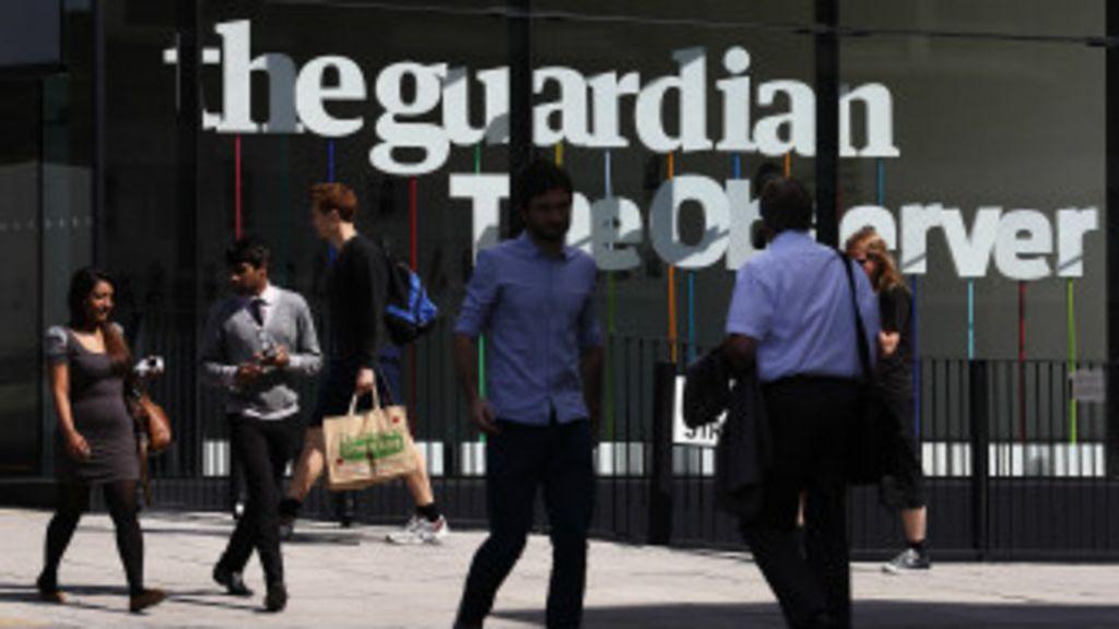 las denuncias de The Guardian en el caso Snowden