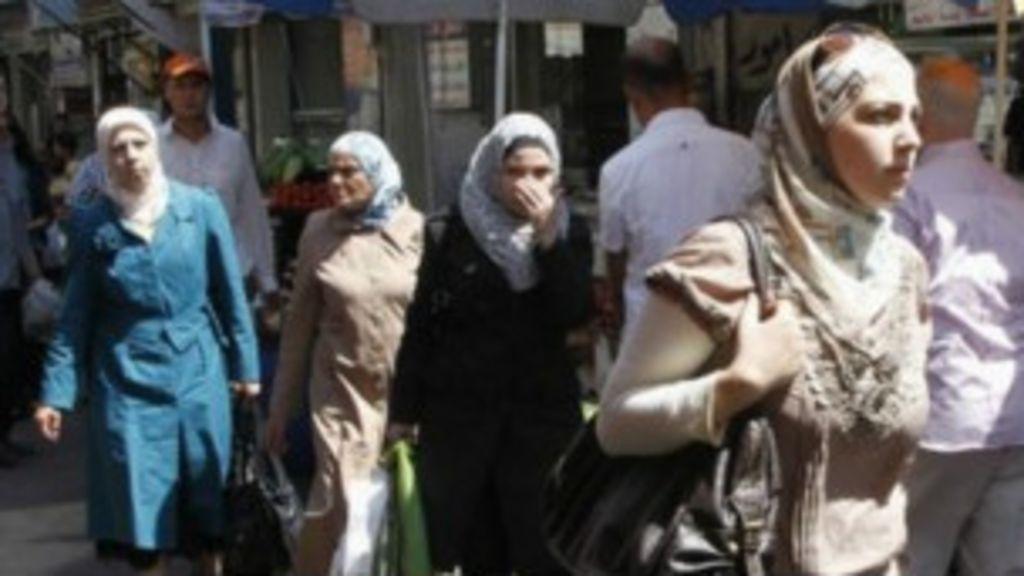' Apreensão e ansiedade em Damasco', diz correspondente da BBC ...