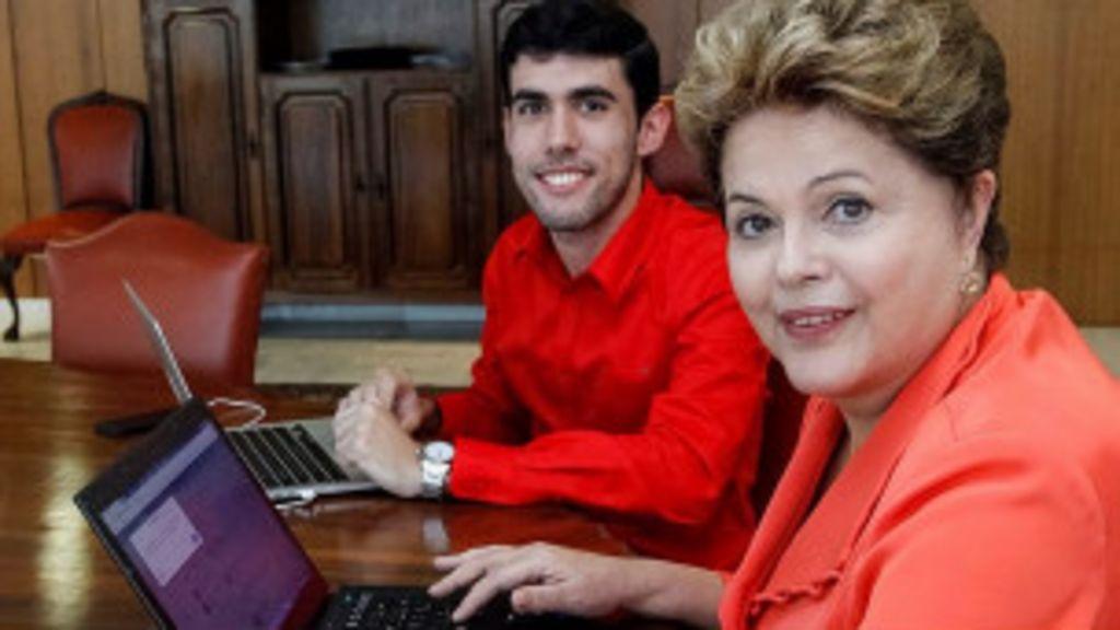 Dilma retorna ao Twitter, conversa com humorista e critica 'Economist'
