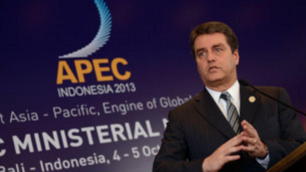 Brasileiro chefe da OMC alerta para fracasso em acordo para ...