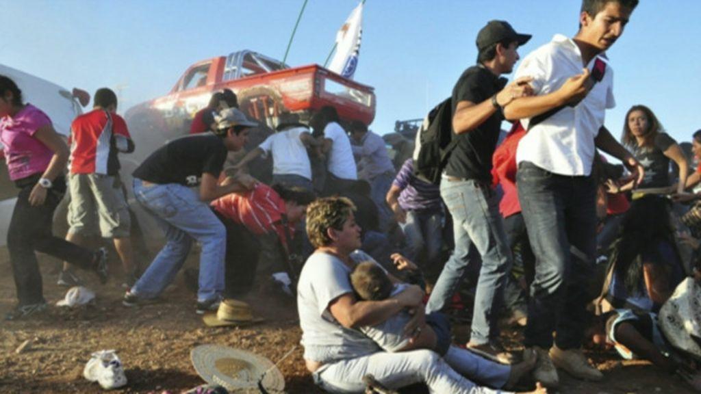 Caminhão-monstro atropela plateia e mata 8 em festival no México ...
