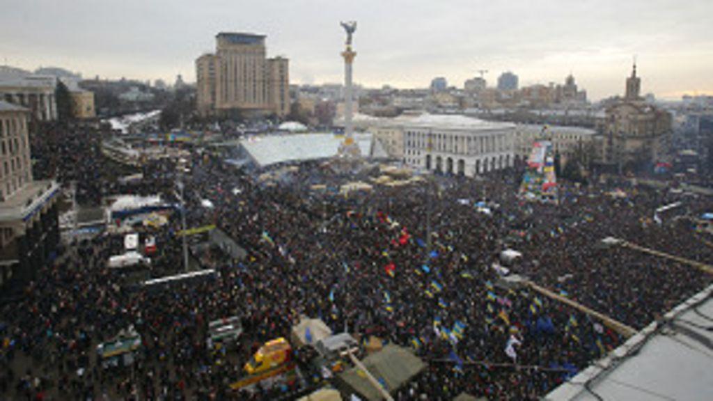 O que está por trás das manifestações na Ucrânia? - BBC Brasil
