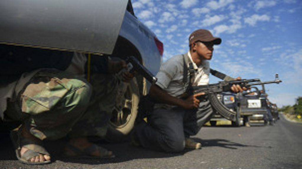Milícia popular será incorporada às forças de segurança no México ...