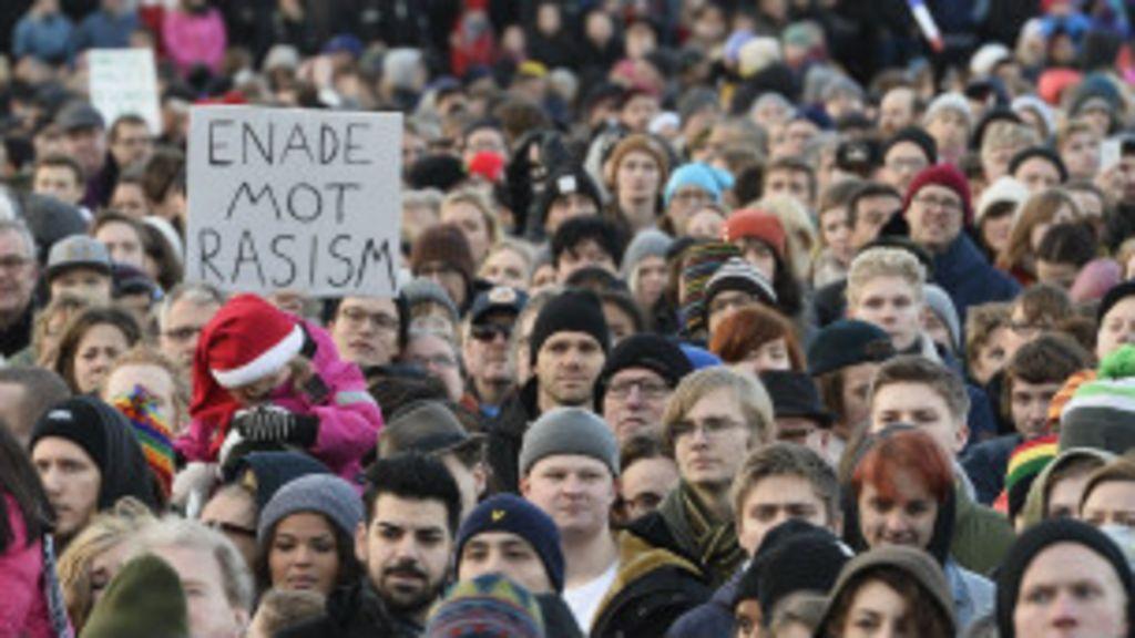 Apoio a extrema-direita dobra na Suécia, 'porto seguro' de refugiados