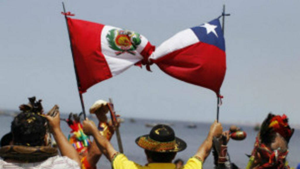 Peru e Chile iniciam disputa por 300 m de praia - BBC Brasil