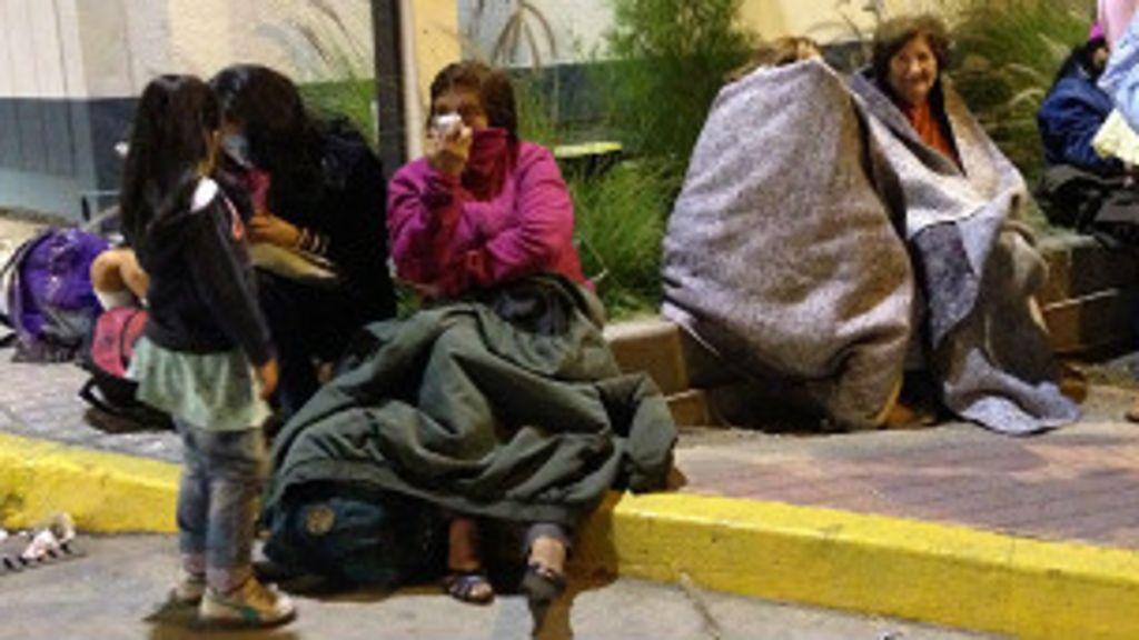 Chile decreta estado de emergência em três regiões após tremor ...