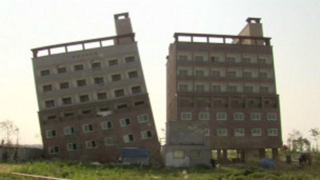 Prédio sul-coreano amanhece cinco vezes mais torto que Torre de ...