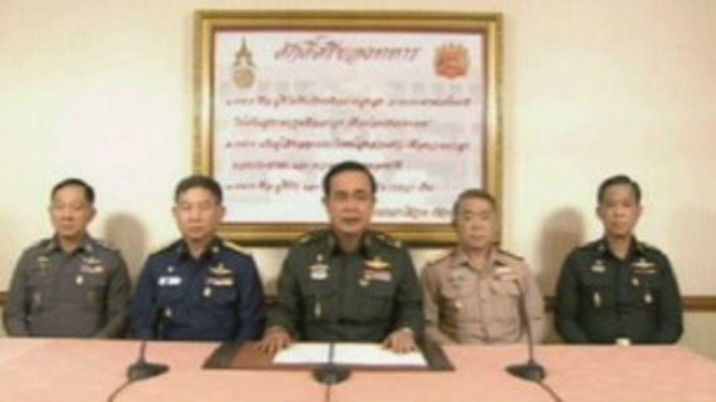 Exército toma poder em golpe de Estado na Tailândia - BBC Brasil