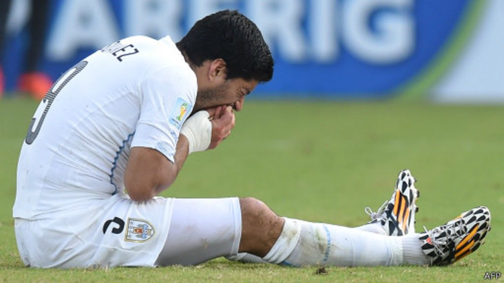 'Reincidente', Suárez recebe maior punição da história das Copas ...
