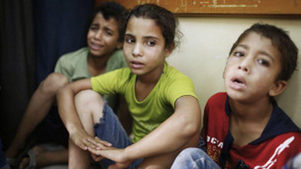 Por que idade média em Gaza é de 17 anos? - BBC Brasil