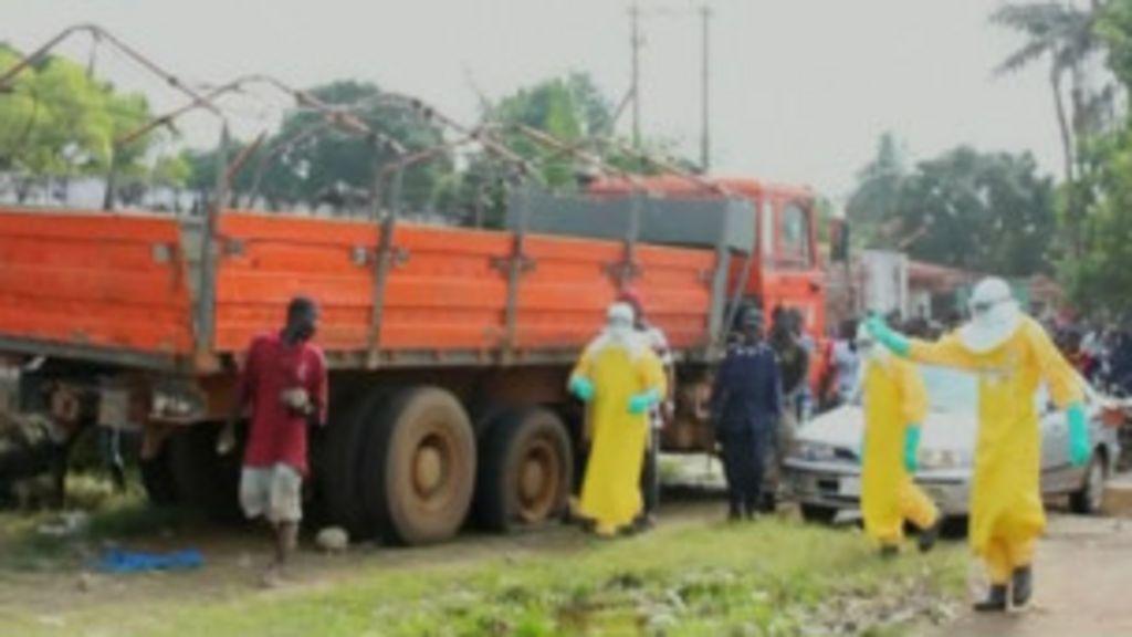 Paciente com ebola foge e assusta frequentadores de mercado na ...