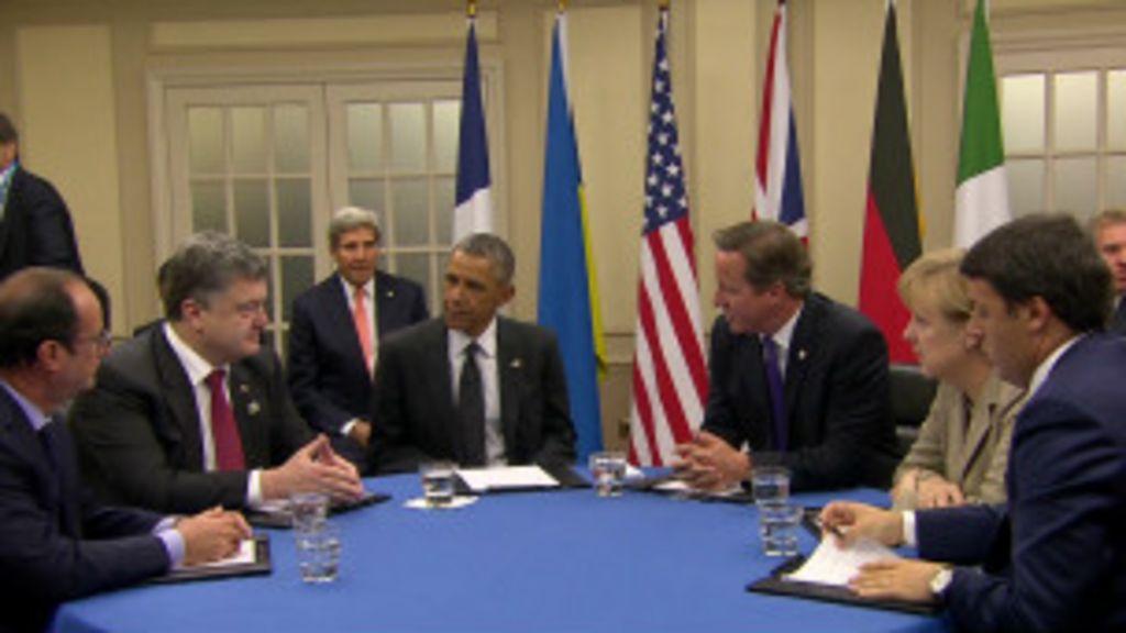 Tensão com Rússia domina cúpula da Otan; entenda - BBC Brasil