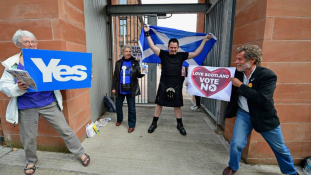 Escócia conclui votação sobre independência e aguarda seu destino