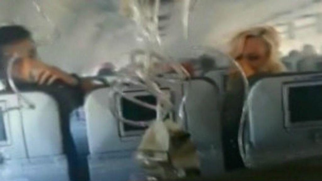 Fumaça toma conta de cabine e força pouso de avião nos EUA ...