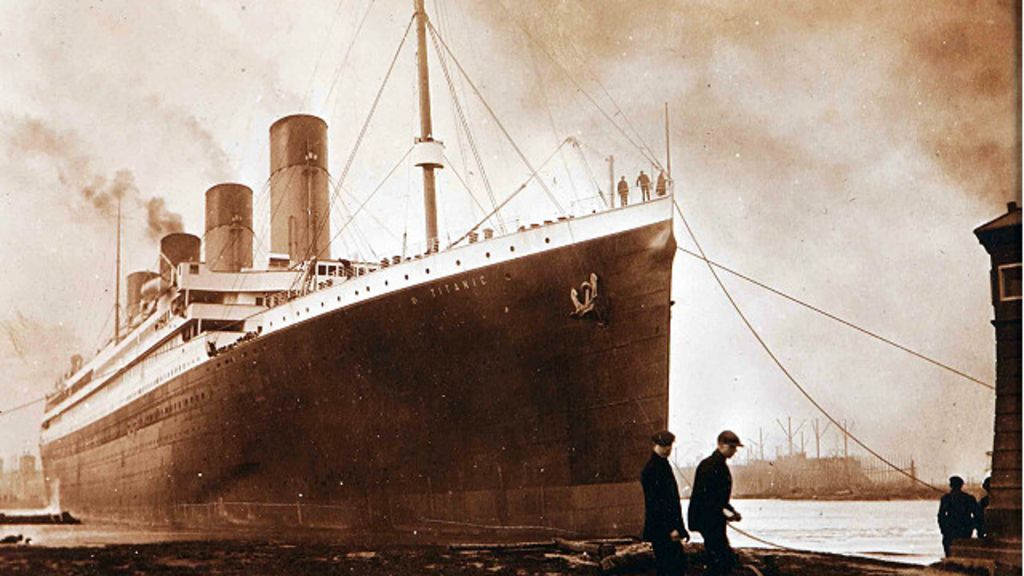 Imagens inéditas mostram Titanic antes de tragédia - BBC Brasil