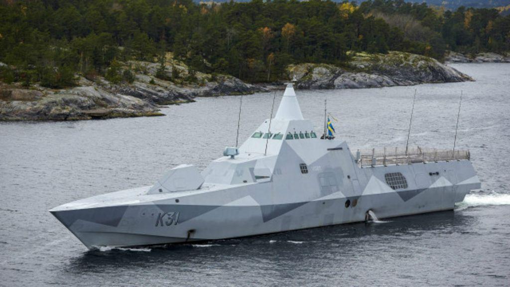 Masiva movilización sueca para cazar al submarino intruso - BBC ...