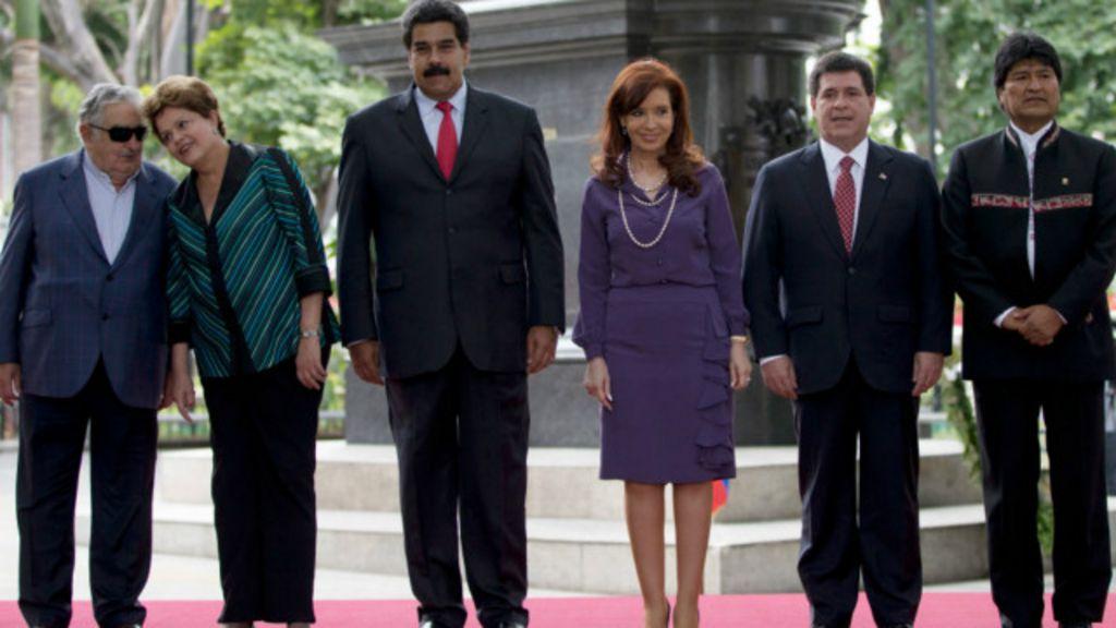 Brasil assume presidência prometendo 'agitar' Mercosul - BBC Brasil