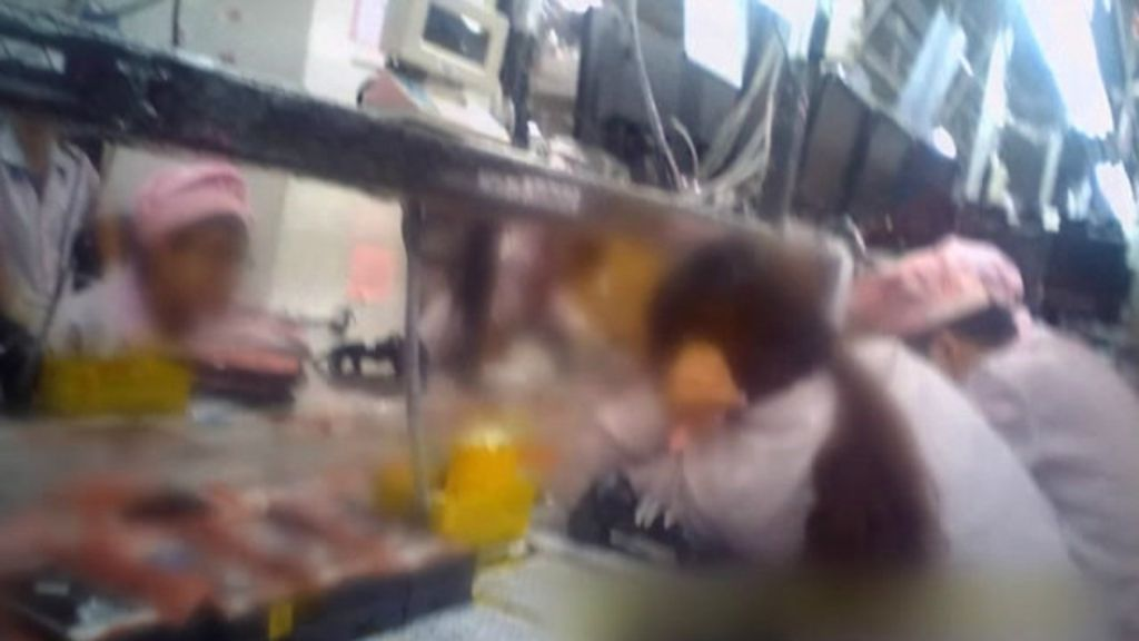 Câmera escondida revela abuso contra empregados em fabricante ...