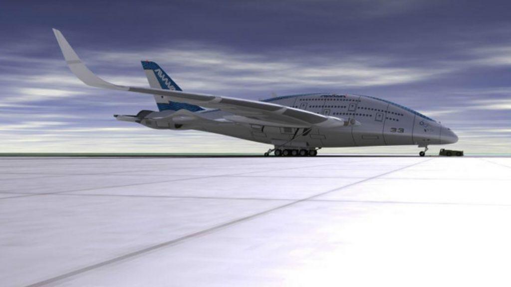 Conheça o avião do futuro - BBC Brasil