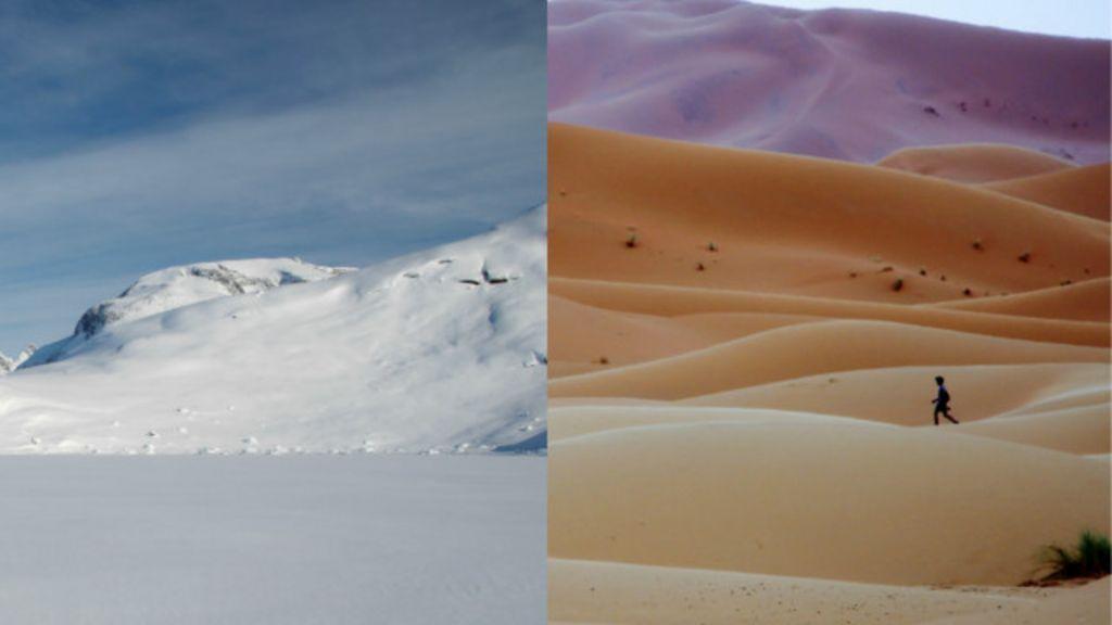 É mais difícil correr no deserto do Saara ou no Polo Norte? - BBC ...