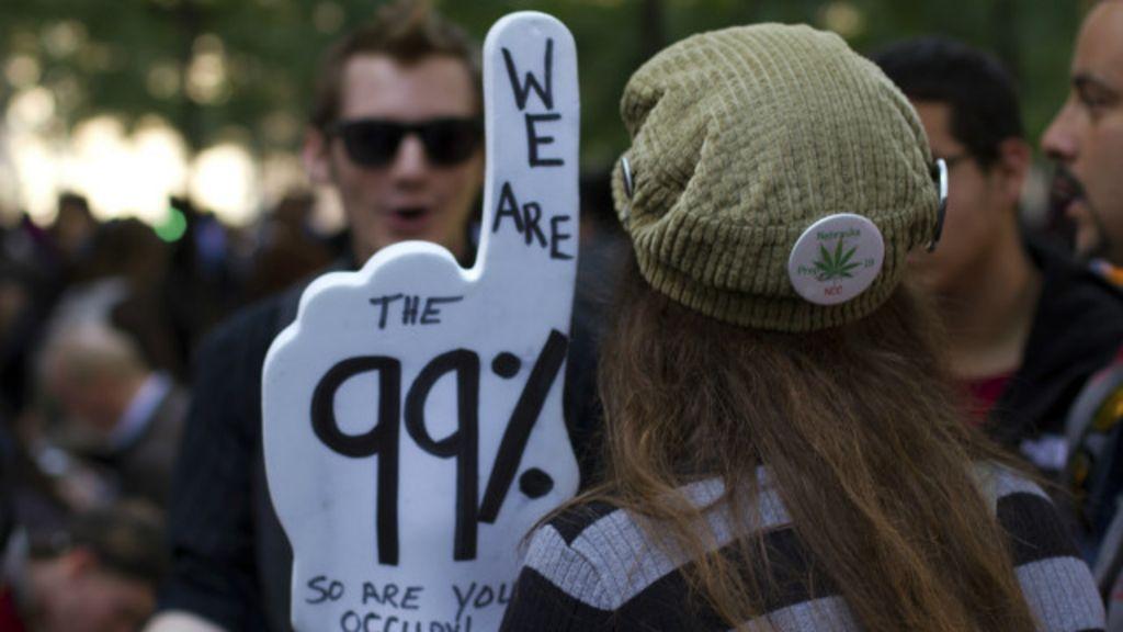 Riqueza de 1% deve ultrapassar a dos outros 99% até 2016, alerta ...