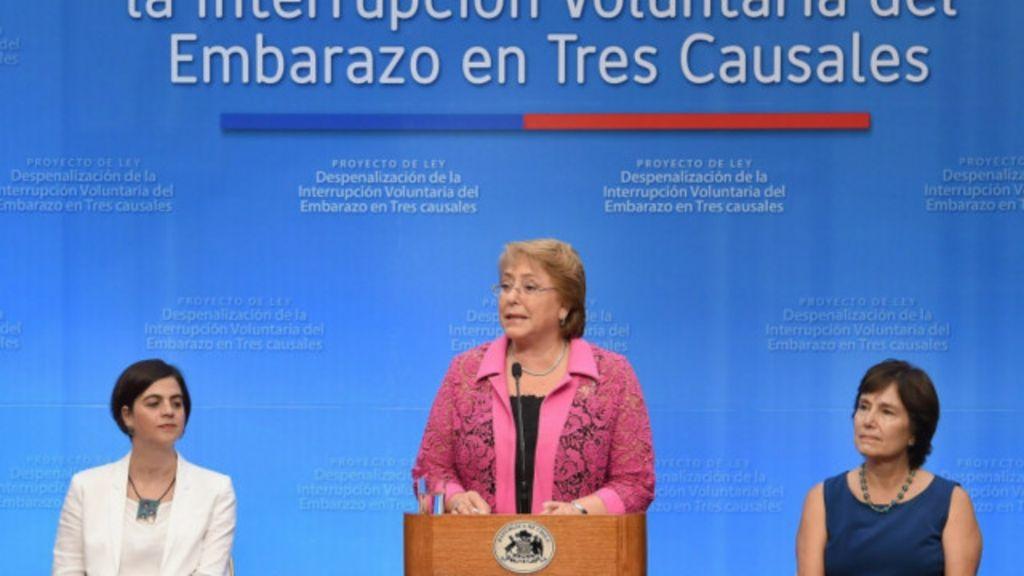 Presidente chilena propõe fim de proibição total do aborto - BBC ...