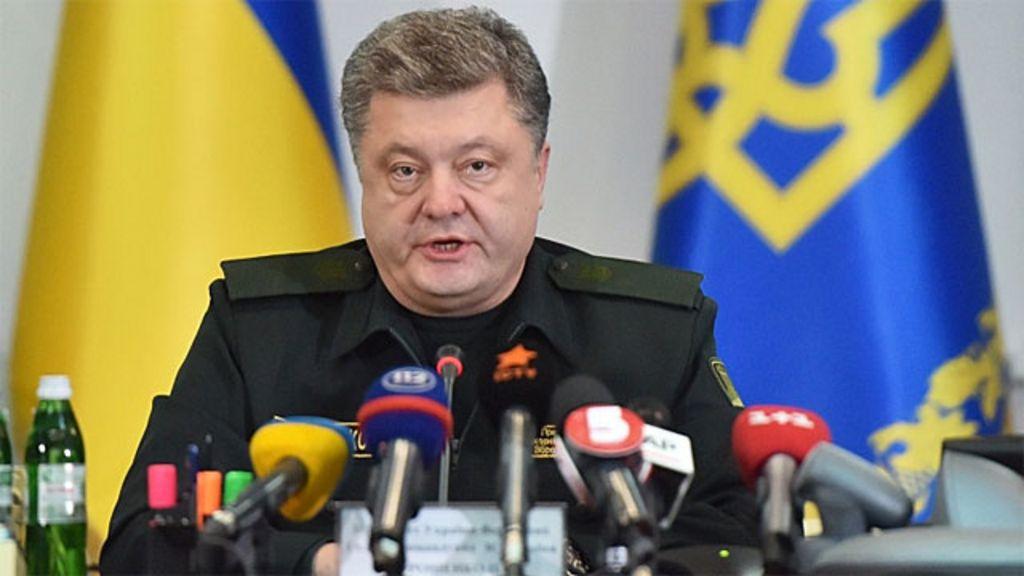 Presidente da Ucrânia determina cessar- fogo - BBC Brasil