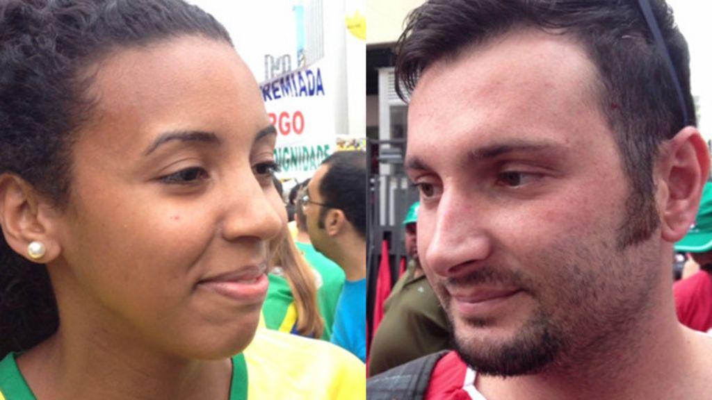 Por que você foi às ruas? - BBC Brasil