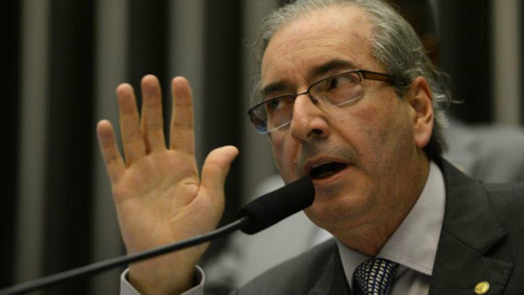 Eduardo Cunha: Beijaços são um favor e aumentam minha votação ...