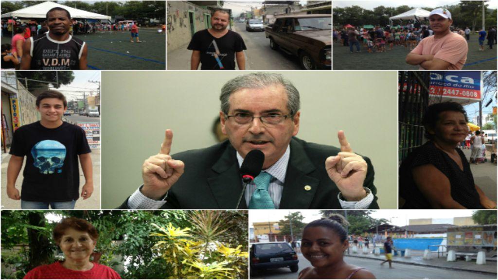 'Ele tem que bater de frente': o que pensam eleitores de Cunha ...