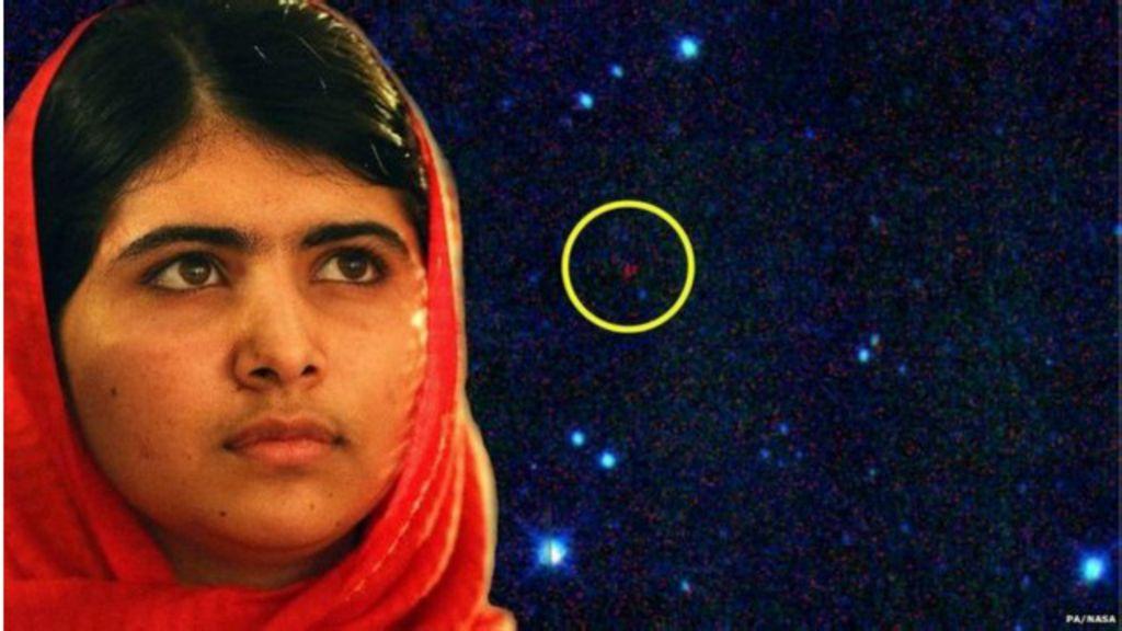Após Nobel, Malala ganha nome em asteroide - BBC Brasil