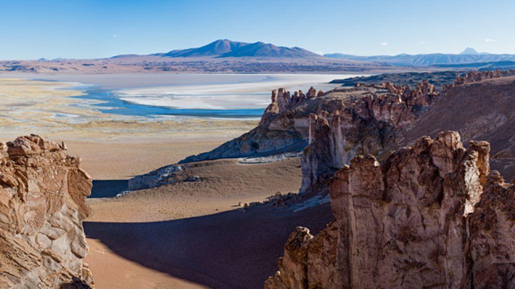 Gelo e deserto: a beleza da costa oeste da América do Sul - BBC ...