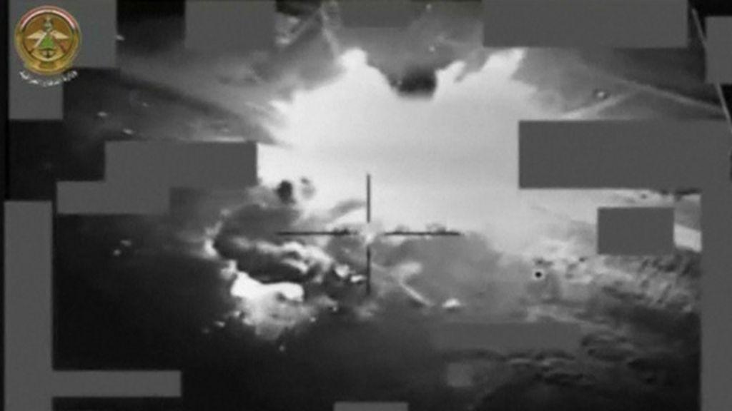 Iraque divulga imagens de ataque aéreo que teria matado líder do 'EI'