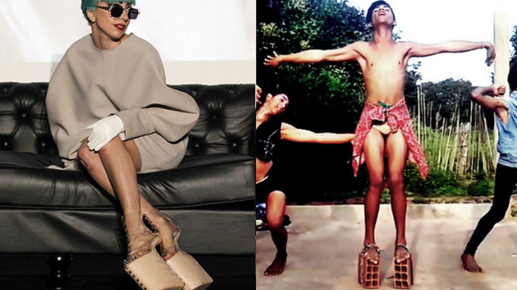 'Ninguém precisa de looks caros para brilhar', diz ' Lady Gaga do ...