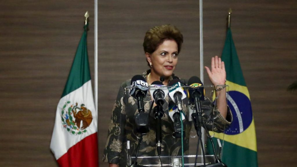 No México, Dilma sinaliza nova estratégia comercial - BBC Brasil
