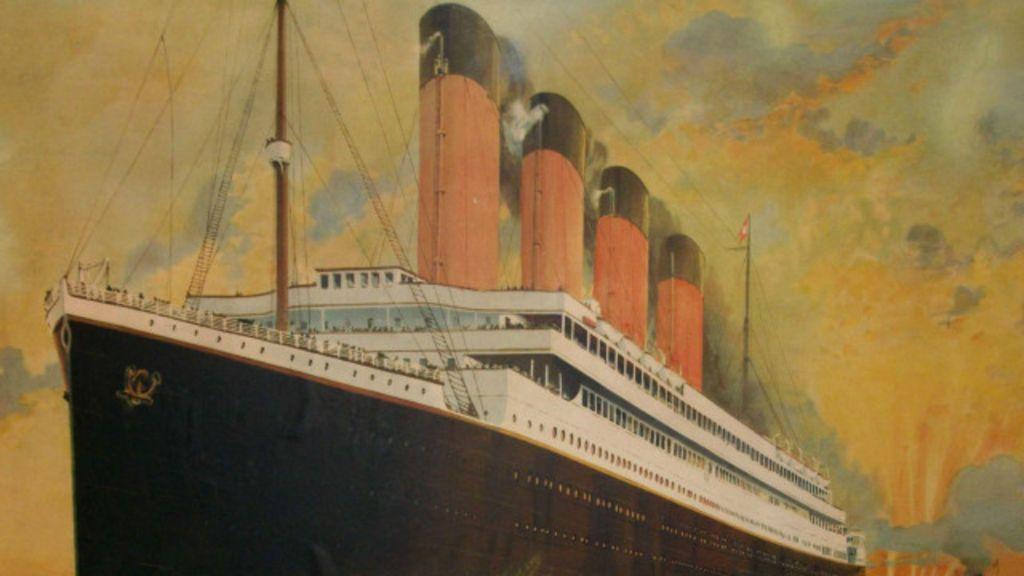 Selo de pacote destinado a funcionário a bordo do Titanic é leiloado ...