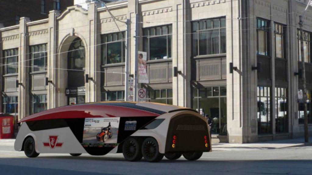 Será este o ônibus do futuro? - BBC Brasil