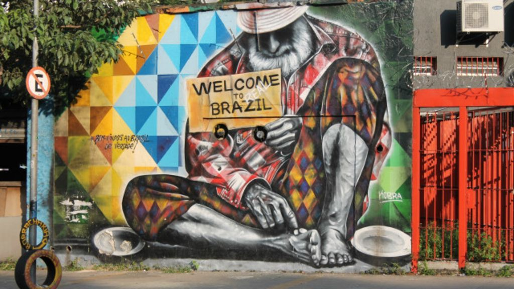 Britânico cria tour por melhores grafites de São Paulo - BBC Brasil