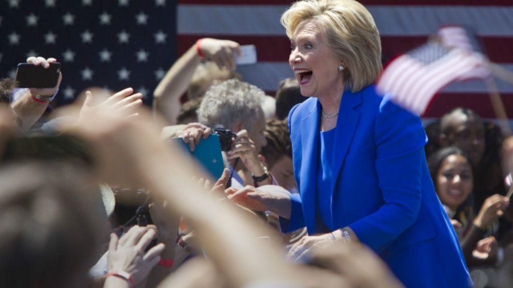 Em campanha, Hillary tenta se 'reapresentar' a eleitores - BBC Brasil