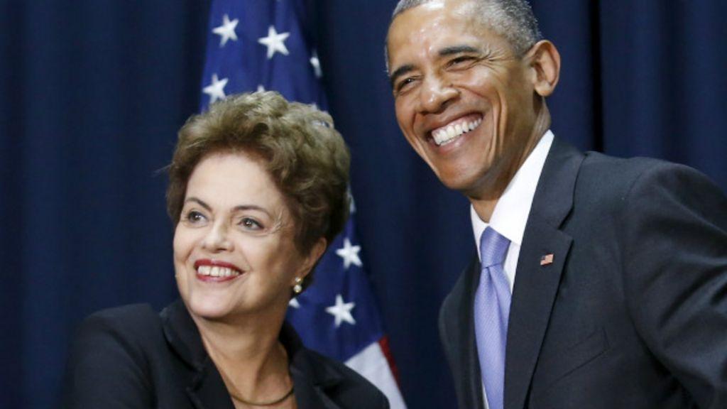 Dilma visita EUA para restaurar confiança e impulsionar economia ...