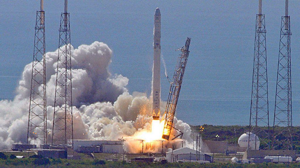 ракета spacex взорвалась #8