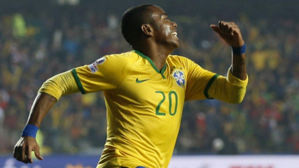 Robinho ya koma Guangzhou Evergrande - BBC Hausa