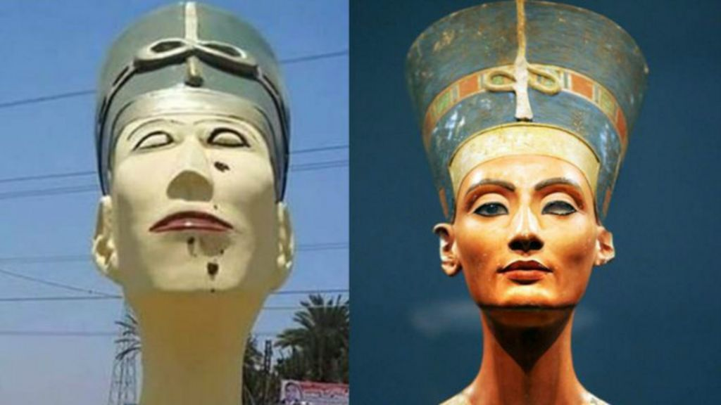 Autoridades egípcias viram piada na internet por estátua 'feia' de ...