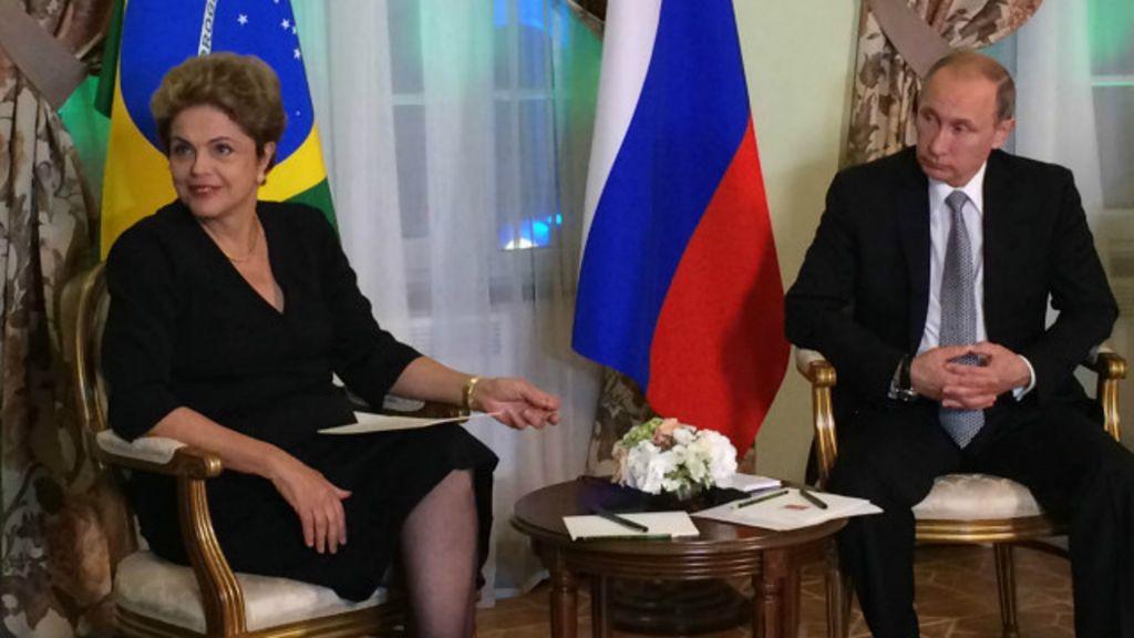 Em crise, Dilma e Putin priorizam economia e deixam política de ...